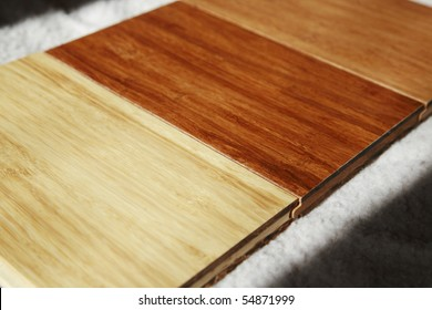 The new style of bamboo flooring with different colors