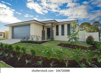 New suburban Australian townhouse