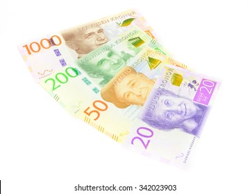 New swedish bank notes. NOTE: the new 2015 model.