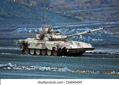 new T-90MC is a Russian main battle tank (MBT)