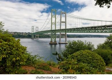 New Tacoma Narrows Suspension Bridges