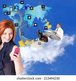 New Technology E-mail.Internet.E-business