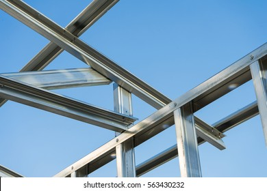 New technology steel frame for construction