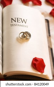 New Testament; New Testament And Wedding Rings