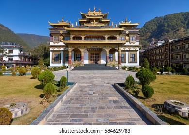 New tibetan buddhist monastery in Dakshinkali, Nepal