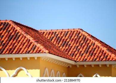 Clay Roof Tiles Images Stock Photos Vectors Shutterstock