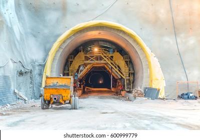 New Transportation Tunnel Construction