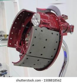 New truck drum brakes model, brake pads without brake drum