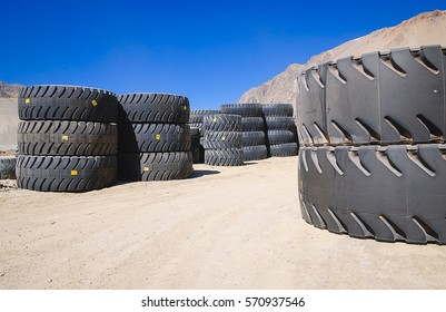 New truck tires for the mining industry