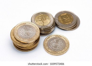 New Turkish 1 Lira coins for Commemoration of 15th July Victory of Democracy and the Martyrs.