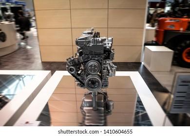 New Unused Grey Engine. Engineering