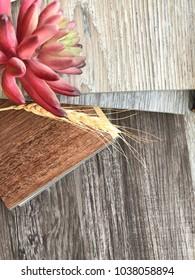 New Vinyl wood pattern flooring