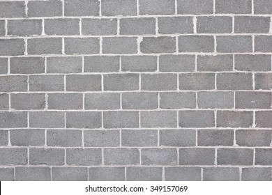 New wall of cinder block