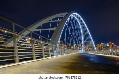 New Walterdale bridge Edmonton