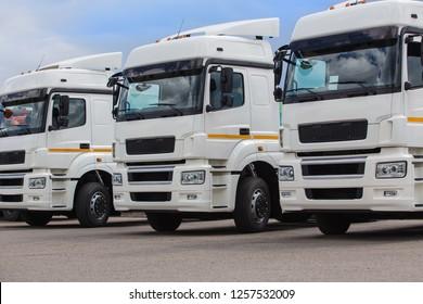 New white trucks for sale. Dealer trucks