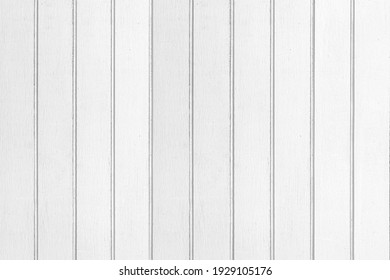 New white vintage wooden wall texture and background seamless or a white wooden fence