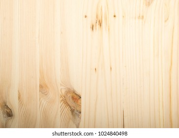 New Wood Texture Background. Light Boards with a Beautiful Natural Pattern Top View