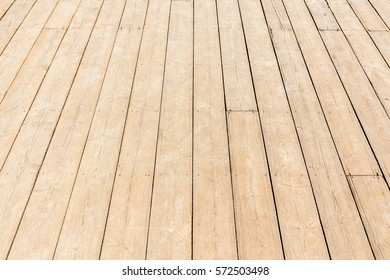 New wooden floor, close up rough wood texture of floor with natural pattern.