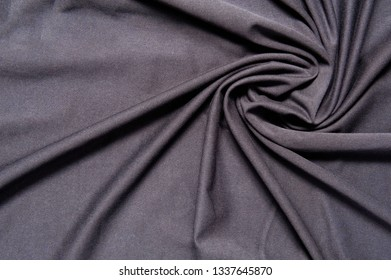 new wrinkled textile fabric dark color