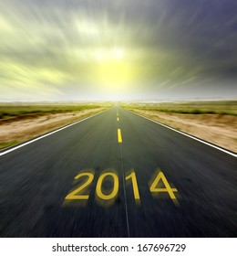 New Year, 2014 Highway, a better future.