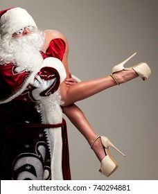 Santa fucks young girl