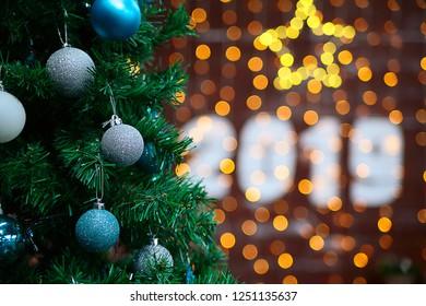 New year 2019 Christmas - Shutterstock ID 1251135637
