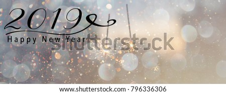 new year banner header for social media scales down to fit a facebook header