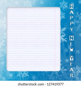 New year card