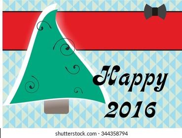 New Year Christmas Card