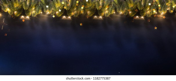 New Year and Christmas holidays background
