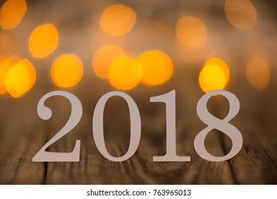 New year concepts 2018
