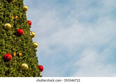 new year fir tree
