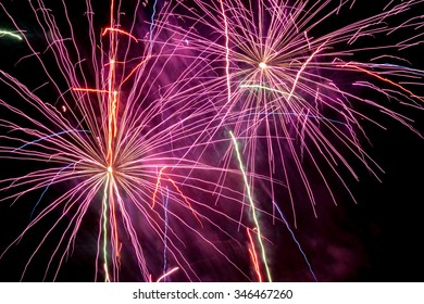 new year firework can be used for new year evening celebration event