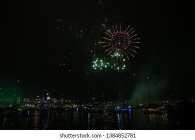 New year fireworks in Sydney, Australia