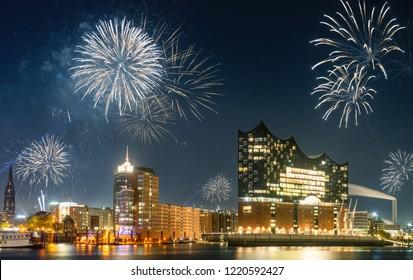 New Year  Hamburg