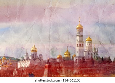 New year holidays in Moscow on red square photographed close-up