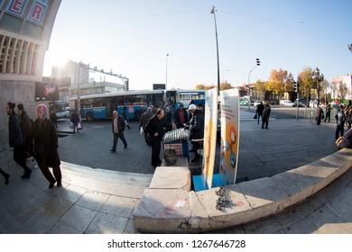 new year lotery selling Ankara Turkey 25.12.2018