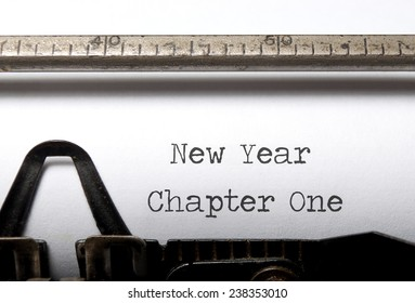 New year, new start concept