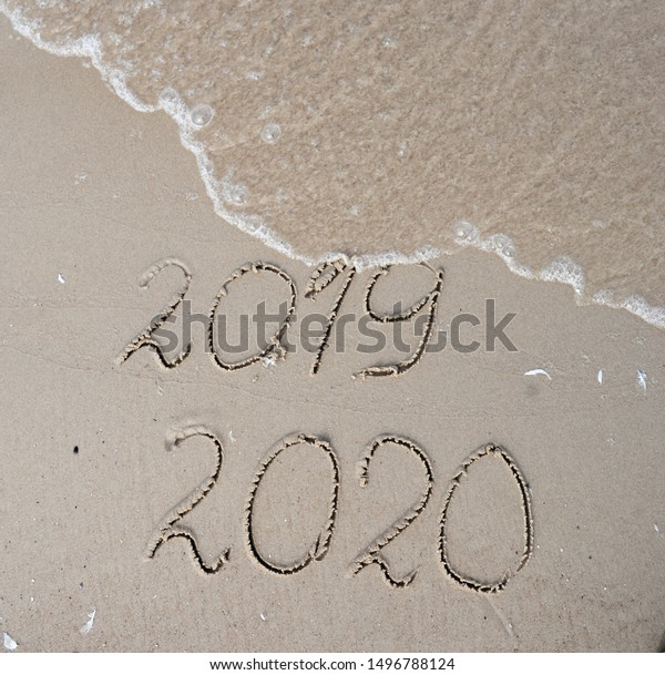 New Years 2020 Replace 2019 Concept Stock Image Download Now