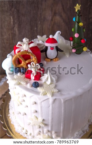 New Years Cake Birthday Cake Those Stock Photo Edit Now 789963769