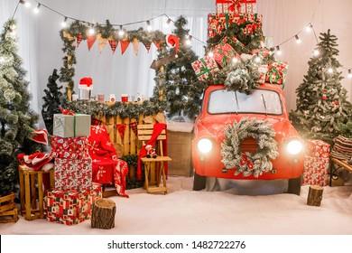 Christmas Vacation Car.Christmas Vacation Car Images Stock Photos Vectors