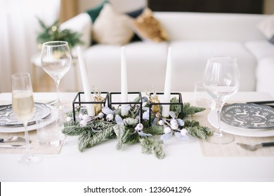 New Year's decoration. Christmas and  New Year concept
