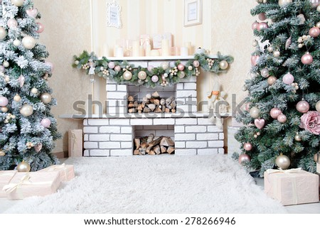 New Years Decoration Photo Studio Stock Photo (Edit Now) 278266946 ...