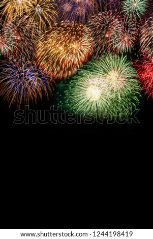 new years eve fireworks background copyspace copy space portrait format years year firework backgrounds