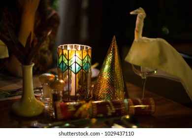 New Year's Eve Table Decoration