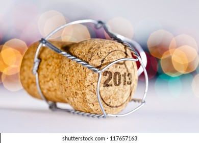 New Year's Eve/Champagne cork new year's 2013