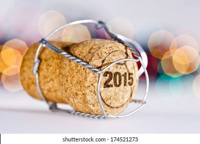 New Year's Eve/Champagne cork new year's 2015