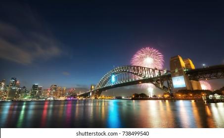 New Years Fireworks, Australia