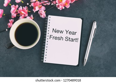 New Year's Inspiration Quotes with Text - New Year Fresh Start