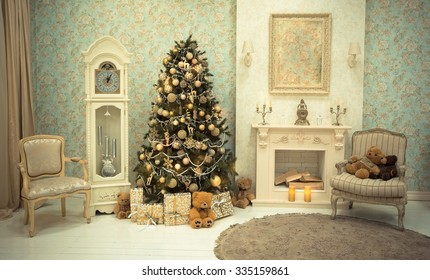 Christmas Tree Clean Images, Stock Photos & Vectors | Shutterstock